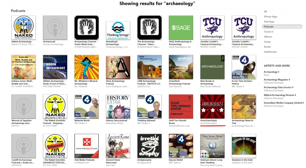 screen cap itunes podcasts